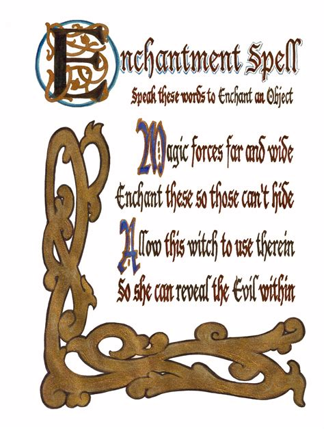 enchantment spell charmed pages wiki fandom powered by