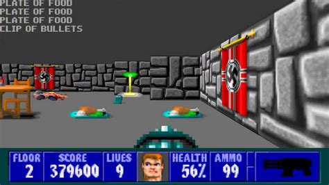 picdun 2 floor 1 map wolfenstein 3d episode 1 floor 2