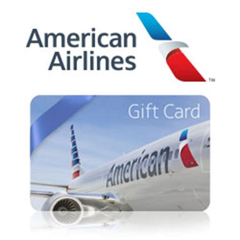 American Airlines E Gift Card - buy american airlines 174 gift cards at giftcertificates com