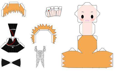 Ichigo Papercraft - ichigo kurosaki papercraft by 0djpoppy0 on deviantart