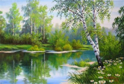 painting nature funzug beautiful nature paintings by samarskaya