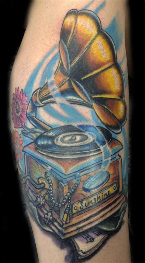 phonograph tattoo 17 best images about phonograph tattoos on