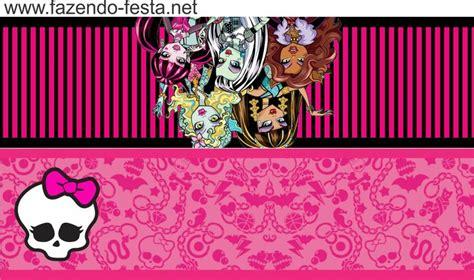 monster high party para imprimir caja geavanna 86 best cartoncitos para personalizar tus dulces images on