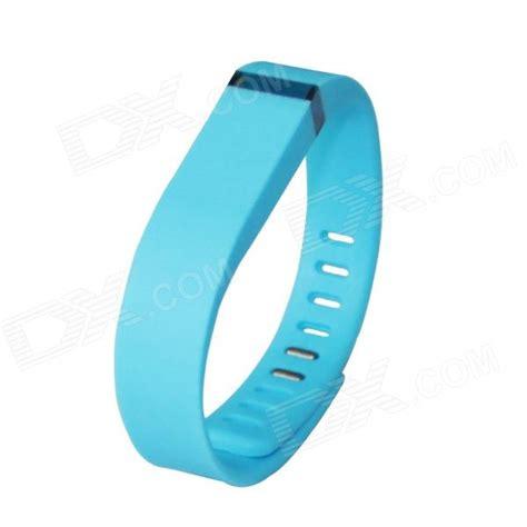 Large Wrist Band w/ Clasp for Fitbit Flex Smart Bracelet   Sky Blue   Free Shipping   DealExtreme