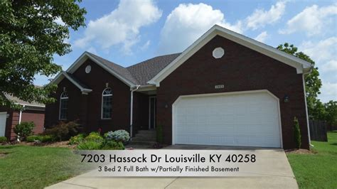 houses for sale 40258 7203 hassock dr louisville ky 40258 home for sale youtube