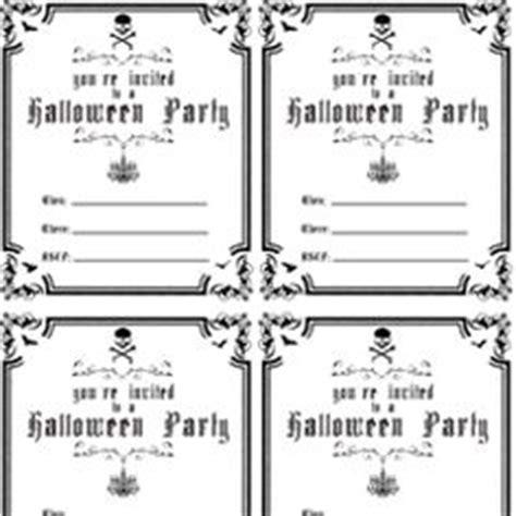 free printable halloween invitations black white free printable halloween party invitations theruntime com