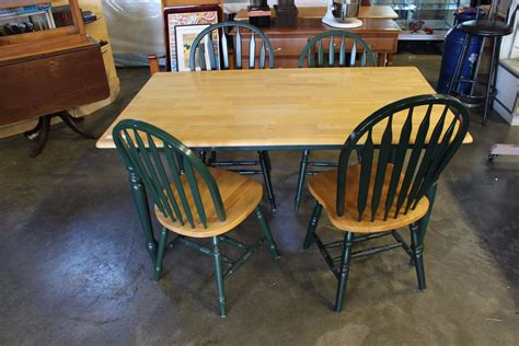 maple dining table and chairs maple and green dining table and four chairs