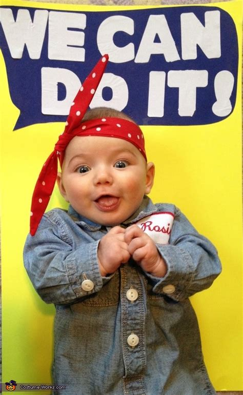 rosie  riveter baby girls costume