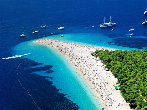 le piu le pi 249 spiagge della croazia andare in croazia