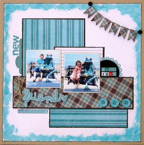 scrapbook layout for many pictures scrapbook layout scrapbook therepy pinterest