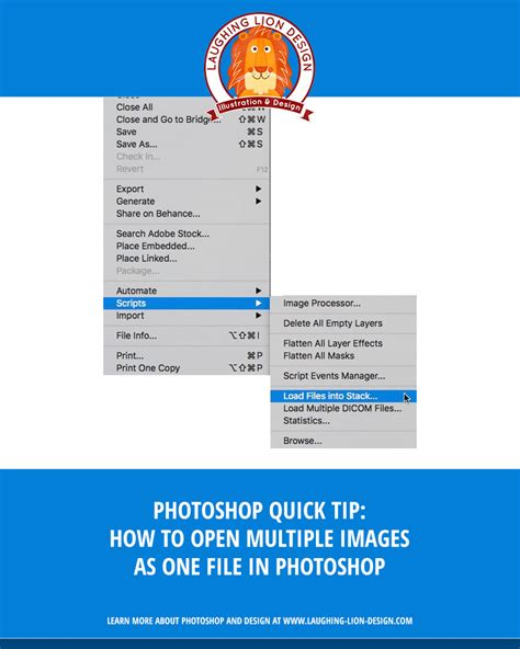 photoshop layout multiple images photoshop tip how to open multiple images into a single