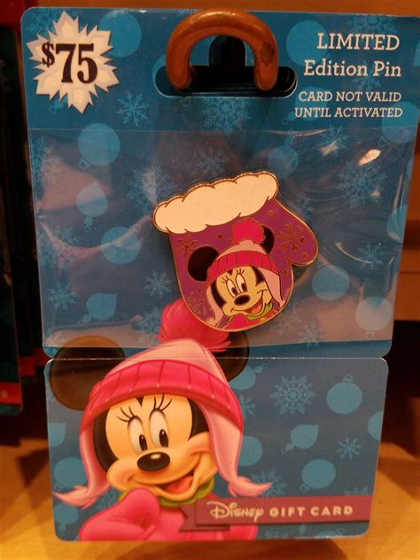 The Limited Gift Cards - disney 2016 limited edition pin gift cards make the perfect gift this holiday season