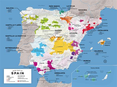 Spain Wine Map by Map Of Spain Wine Regions Wine Folly