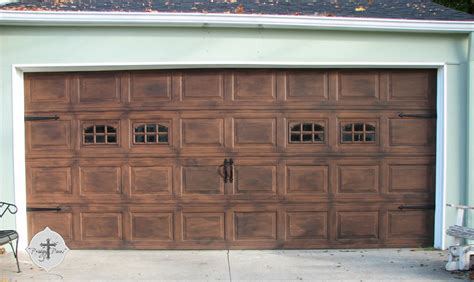 awesome garage doors awesome faux garage door 3 faux wood garage doors
