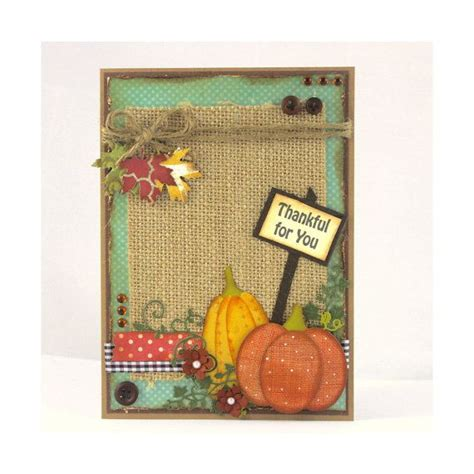 Thanksgiving Handmade Cards - 1000 ideas about handmade thanksgiving cards on