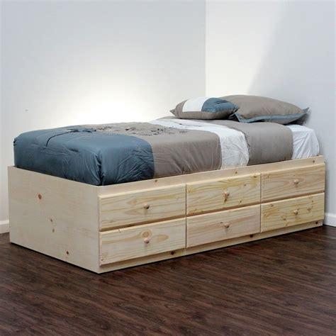 storage bed pine wood in 2019 ideas bed frame with storage storage