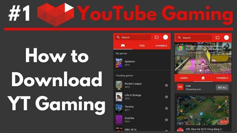download youtube gaming how to download youtube gaming apk youtube