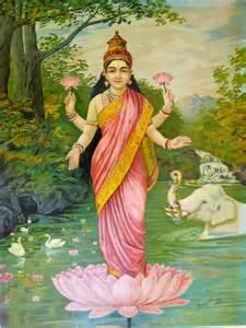 Laxmi Lotus File Lakshmi By Raja Ravi Varma Jpg Wikimedia Commons