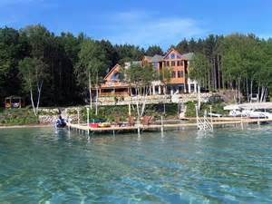 Michigan Lake House by Torch Lake Homes Gallery Professional Builders