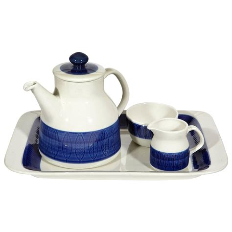 Koka Set r 246 rstand quot koka quot sweden tea set by hertha bengtson 1950s