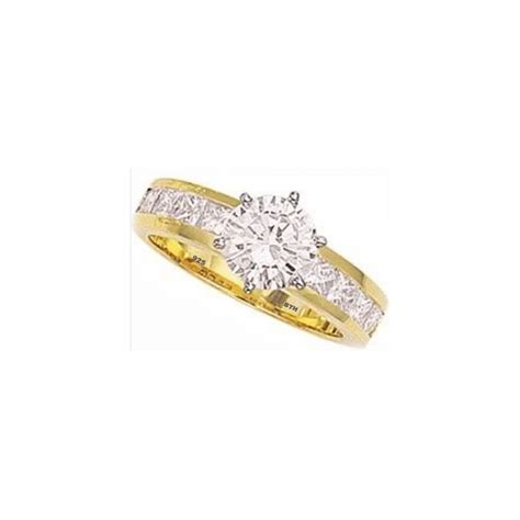 925 silver simulated diamonds classic wedding