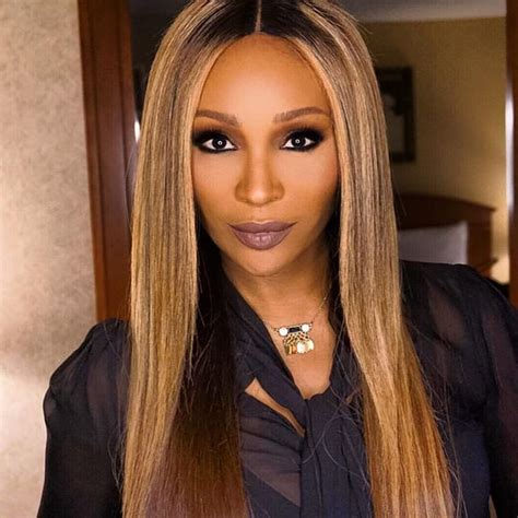 cynthia bailey hair styles cynthia bailey opens up about fighting porsha williams