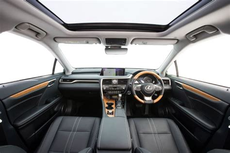 lexus rx 2016 interior 2016 lexus rx now on sale in australia from 73 000