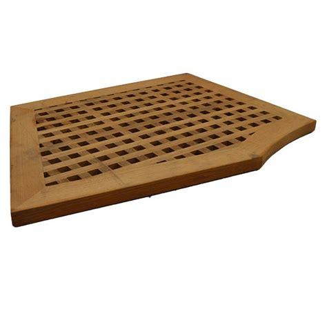 Teak Wood Shower Floor by Carver Marquis Yachts 8404968 Teak Wood 26 1 2 X 20 Inch