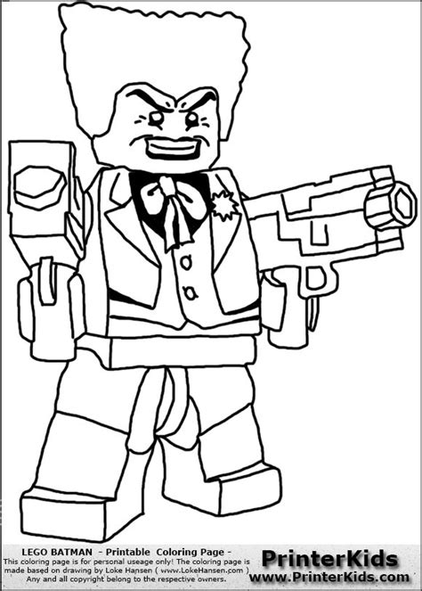 lego coloring pages joker coloriage lego batman joker