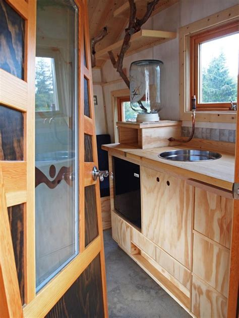75 sq feet 75 sq ft funky micro cabin on wheels tiny house pins