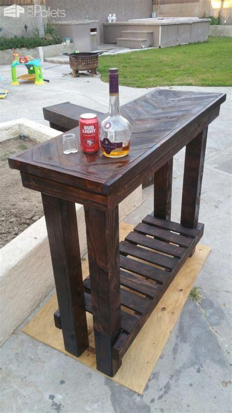 herringbone pallet entry table pallet entry table wood