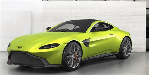 2019 Aston Martin Vantage Configurator by 6speedonline Goes Nuts With The 2019 Aston Martin Vantage
