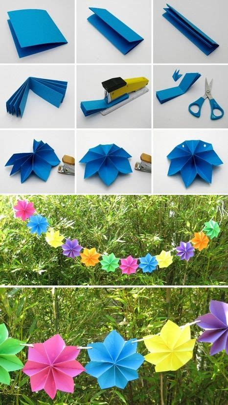 Easy To Make Paper Decorations - how to diy easy paper decoration www fabartdiy