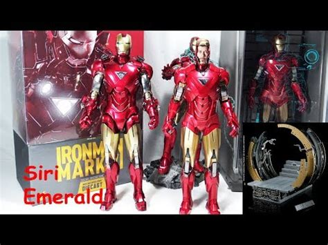 unboxing hot toys iron man mk diecast mms