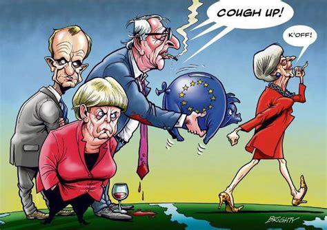 puigdemont brexit brexit caricature cartoons pinterest