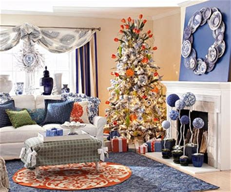 blue and orange decor eye for design decorating with the blue orange color