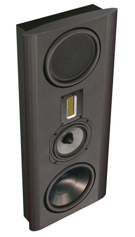Speaker Subwoofer Merk Legacy legacy silhouette on wall in wall destination hifi