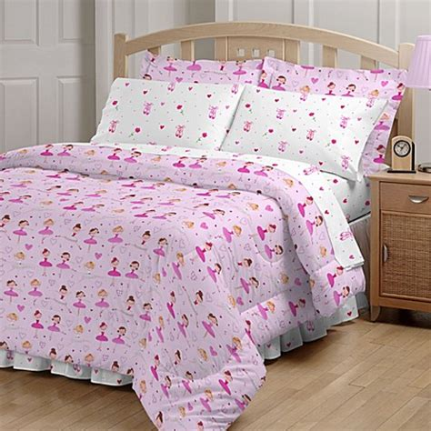buy ballerina twin comforter set from bed bath beyond