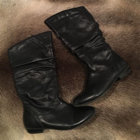 67 aldo shoes black aldo leather boots from