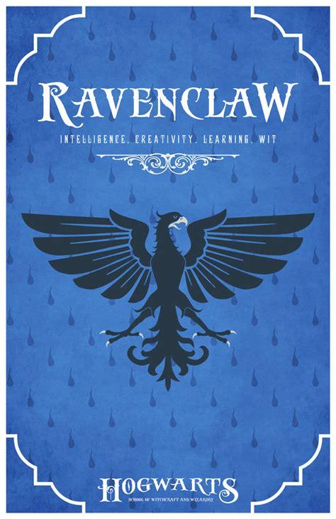 house ravenclaw poster by liquidsouldesign on deviantart