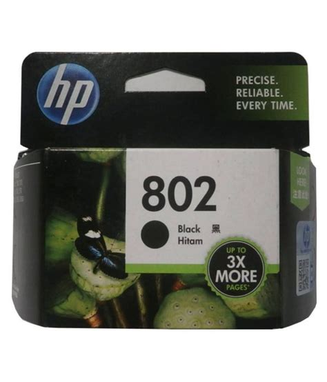 Hp 802 Black By Ok Mart indian technology hp 802 big black ink cartridge single