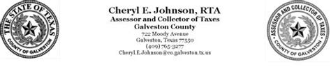 Galveston Property Tax Records Cheryl Johnson Releases Seven Step Guide To Protesting Property Taxes