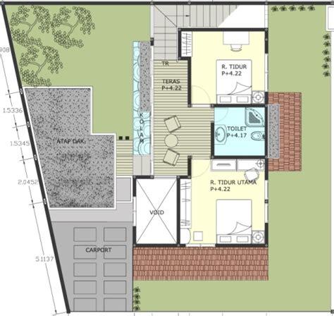 contoh denah rumah layout annahape studio desain rumah gambar desain rumah mungil lantai 2 annahape studio