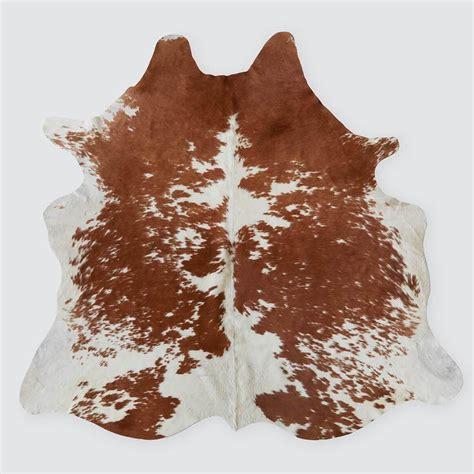 Cowhide Rugs - brown white cowhide rug argentinian cowhide