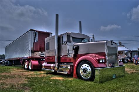 Hd Kenworth W900l Custom Wallpaper