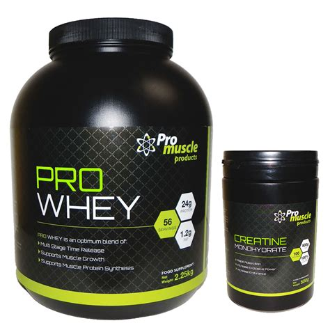 protein and creatine monohydrate promuscle pro whey 2 25kg creatine monohydrate 500g