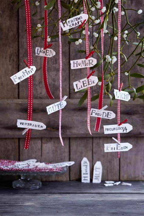 Etiketten Umkleben by Zauberhafte Adventskalender Gartenzauber
