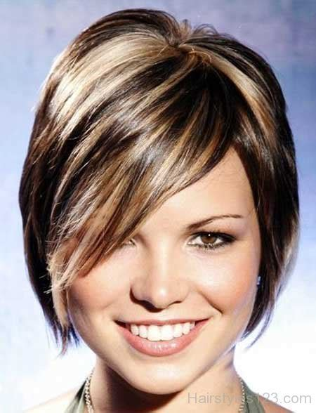 senior women highlight hair colors photos short wedge hairstyles