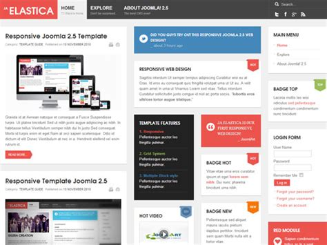 best joomla ecommerce templates best free responsive joomla templates