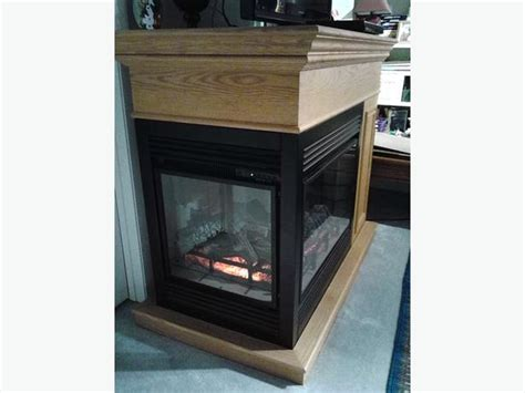 Three Sided Electric Fireplace by Three Sided Freestanding Electric Fireplace Heater Like